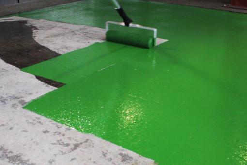 Polyuretanové nátěry podlah